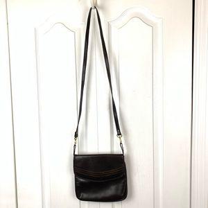 Andrew Geller Bags - Andrew Geller Boutique Leather Crossbody Bag